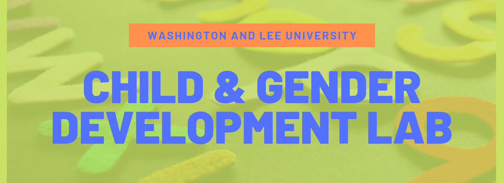 Child & Gender Development Lab